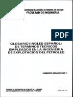 Glosario Inglés Español de Términos Técnicos Petroleros