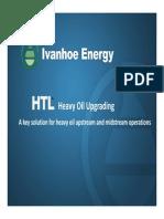 Heavy Oil Upgrading Presentation 2011
