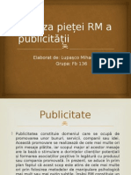 Analiza Pietei Publicitatii in RM