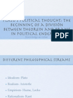 Plato's Political Thought