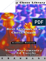Best Lessons of a Chess Coach (Sunil Weeramantry)