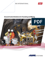 DSI ALWAG-Systems Ground Control Solutions for Tunneling and Mining