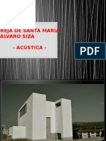 Acústica Da Igreja de Santa Maria - Alvaro Siza