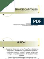 SISTEMA DE CAPITALES