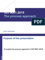 ISO 9001 2015 Process Approach Presentation