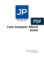 Case Analysis - Bharti Airtel