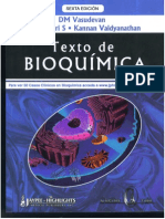 Bioquímica - Vasudevan (6ª Edición)