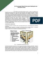 Desenvolvimento de Tecnologia Wood Frame Para Habitações de Interesse Social