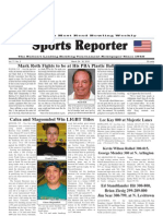 March 24, 2010 Sports Reporter