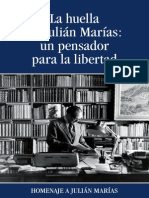 homenaje a julián marías
