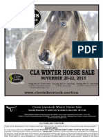 Clovis Horse Sales Winter 2015