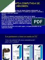 TAC Abdomen Patologico