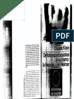 82717694 La Republica de Weimar Claude Klein