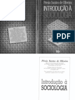OLIVEIRA, Pérsio Santos de. Introdução à Sociologia. São Paulo Ática 1991