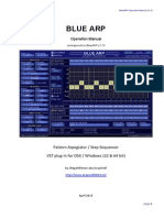 Blue ARP Manual v213 En