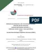 Argentine-german Neurobiology Suppl2