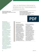 Biodiscos vs Electrocoagulacion
