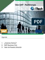 Valor SAP BO RSG 2013