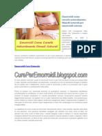 Emorroidi Come Curarle Naturalmente - Rimedi Naturali Emorroidi Esterne