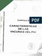 Capitulo 2 Caracteristicas de Las Vacunas Del Pai