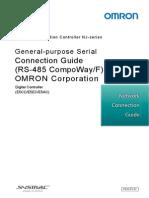 P520-E1-01+NJ Serial Connection Guide for E5CC E5EC E5AC Digital Controller