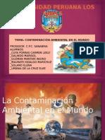 La Contaminación Ambiental en el Mundo