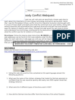 u3d5 - bloody conflict assignment - webquest