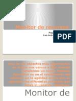 monitor de recursos