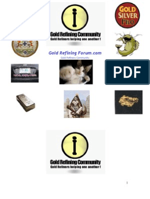 GOLD REFINING FORUM HANBOOK VOL 1 | Nitric Acid | Solubility