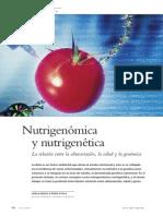 Nutrigenomica y Nutrigenetica