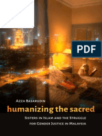 Humanizing the Sacred
