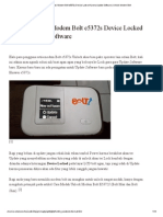 Cara Mengatasi Modem Bolt e5372s Device Locked Karena Update Software _ Unlock Modem Bolt