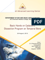 Temporal Bone Brochure
