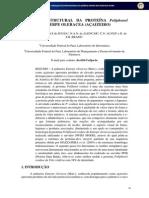 15 P91 99 Predicao Estrutural Da Proteina Poliphenol Oxidase de Euterpe Oleracea Acaizeiro