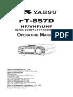 Ft 857d Manual