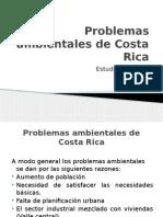 Problemas Ambientales de Costa Rica