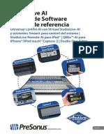 StudioLiveAISoftware ReferenceManual ES-21082014