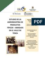 Estudio de La Agroindustria de Productos Tipicos – Amasijos en El Valle de Tenza Boyaca