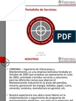 Portafolio de Servicios VIBROBAL Rev 2015 07