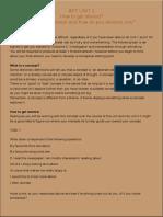 unit3 task sheet concept
