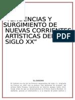 Artes Artisticas Del Siglo Xx