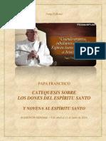 Catequesis Espiritu Santo y Novena 2015
