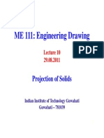 Lecture10 Projection of Solids