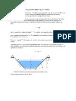 Hidraulica Demostracion de Relaciones Geometricas