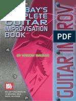 Vincent Bredice - Complete Guitar Improvisation Book