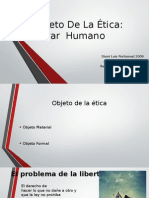 Expo El Objeto de La Etica