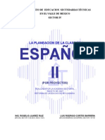Planeacion x Proyectos Segundo Grado 2007 - 2008