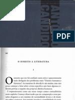 Candido Antonio o Direito c3a0 Literatura in Vc3a1rios Escritos
