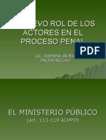 LOS SUJETOS PROCESALE S EN EL PROCESO ACUSATORIO