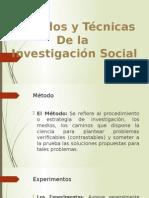 Metodos y Tecnoicas de La Investigacion Social